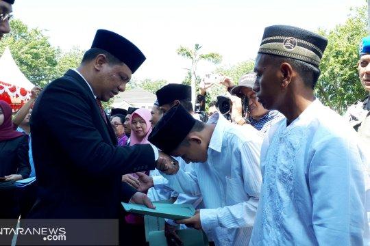 1.715 narapidana di Sulawesi Tengah mendapat remisi