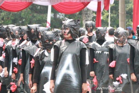 Deklarasi merdeka dari penggunaan plastik dicanangkan warga Bogor