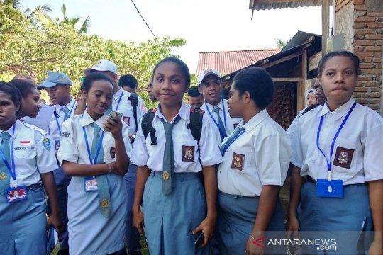 Peserta SMN dari Papua Barat merasa tidak asing di Mamuju
