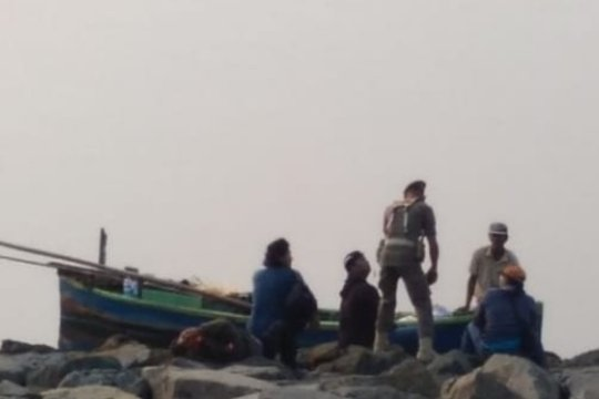 Alasan petugas halau nelayan di pulau reklamasi saat upacara HUT RI
