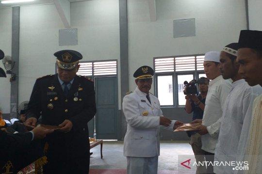 143 warga binaan lapas Tanjung Pandan terima remisi