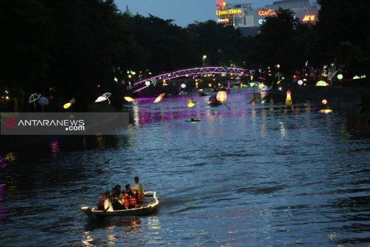 72 ribu pengunjung nikmati wisata air Kalimas Surabaya