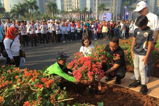 Anies Baswedan targetkan 53 Taman Maju Bersama selesai Desember 2019