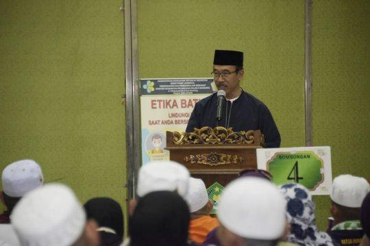 Kloter pertama jamaah haji Jabar asal Bogor disambut Plh Sekda