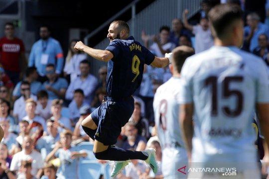 Madrid buka musim menang di kandang Celta