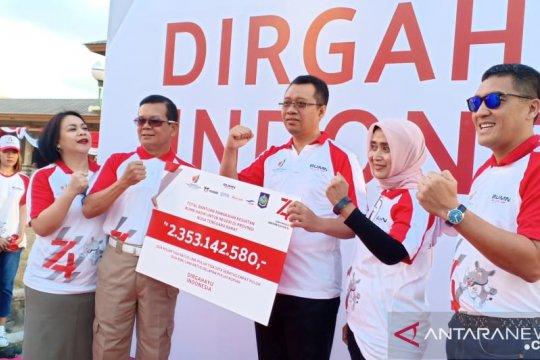 Ribuan warga Mataram meriahkan HUT RI bersama BUMN