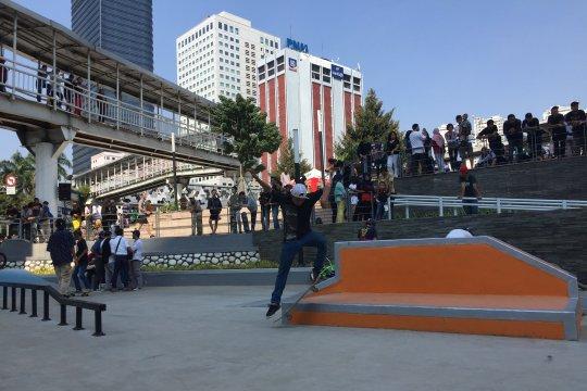 Anies resmikan skatepark, ini tanggapan Komunitas Skateboard Jakarta