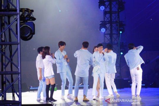 """""""Running Man"""" hadirkan tawa dan mini konser bak idola K-Pop di Jakarta"""