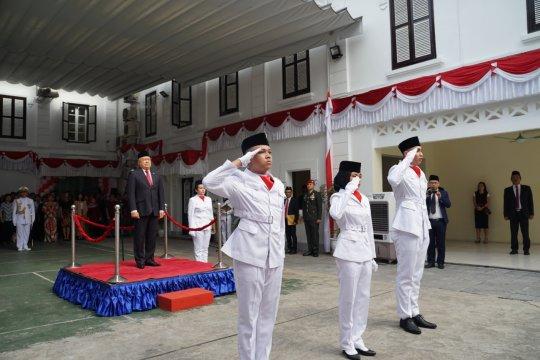 WNI antusias rayakan HUT ke-74 RI di Vietnam