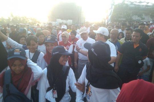 SMN Sultra jalan sehat Pesta Rakyat Timah