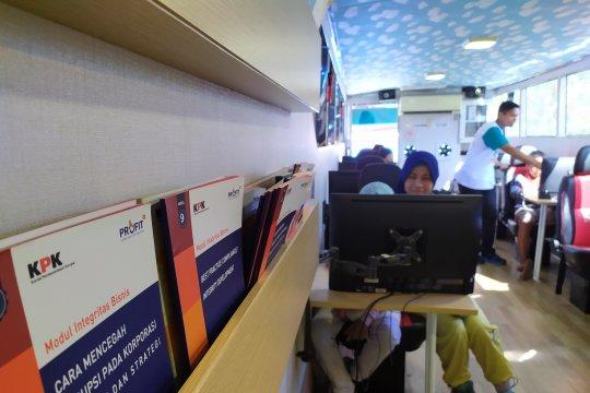 """Rekam Jelajah """"Roadshow Bus KPK"""" setelah tiga hari  terlaksana"""