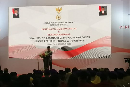 Ketua MPR: Konstitusi harus sesuai dengan tuntutan zaman