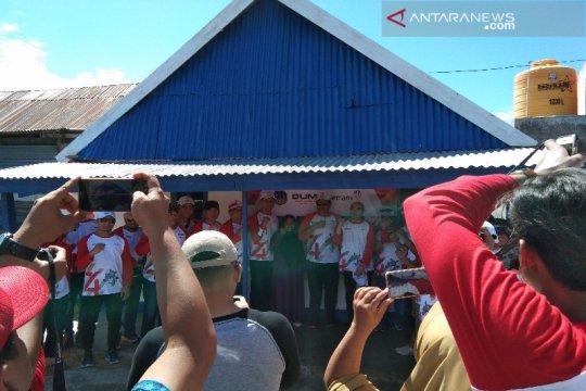 BHUN-Antam bedah 10 rumah warga tidak layak huni