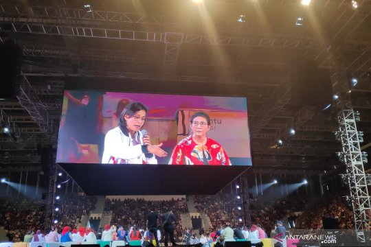 Susi Pudjiastuti tolak botol plastik pada Ignite The Nation