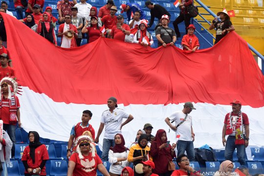 Susunan pemain timnas Indonesia lawan Myanmar