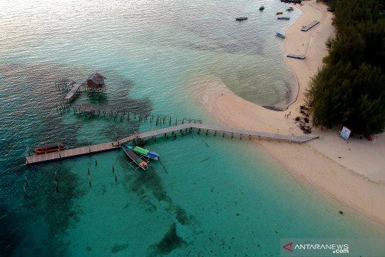 Obyek wisata Pulau Saronde