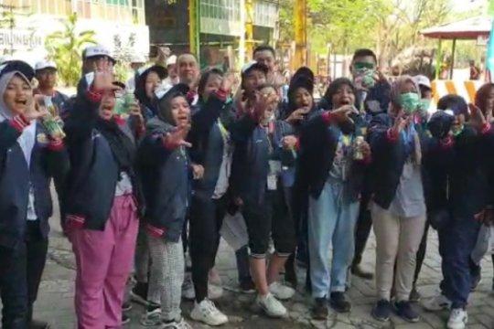 Peserta SMN Gorontalo kunjungi PTPN XI PG Pagottan Madiun