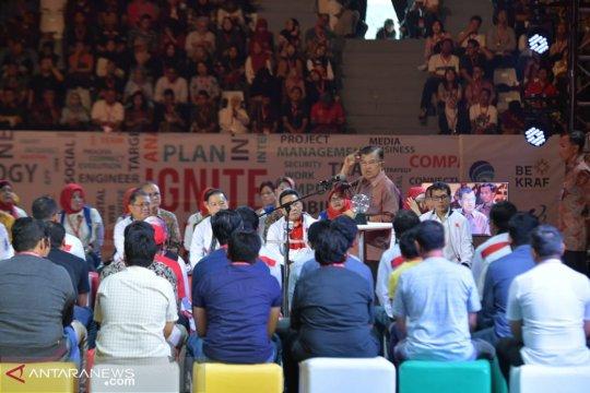 "Wapres JK: ""Start Up Business"" di Indonesia harus untung"