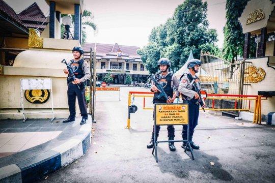 Polres Lumajang perketat penjagaan pascapenyerangan polisi