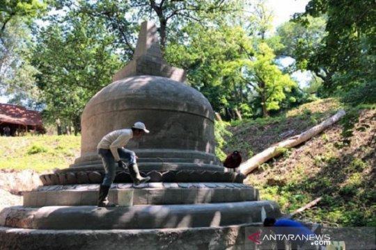 Replika Stupa Candi Borobudur diresmikan di Ukraina