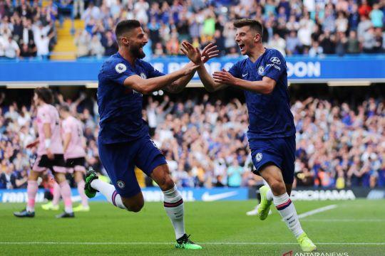 Premier League: Babak pertama Chelsea unggul 1-0 atas Leicester