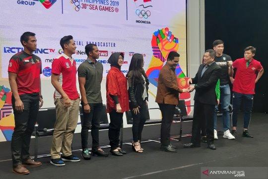 Setidak-tidaknya 11 cabor SEA Games 2019 ditayangkan televisi nasional