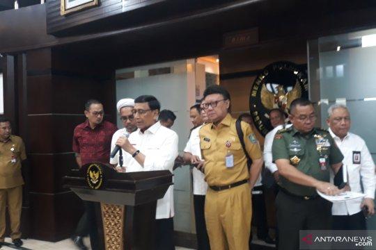 Wiranto apresiasi Khofifah minta maaf kepada Gubernur Papua