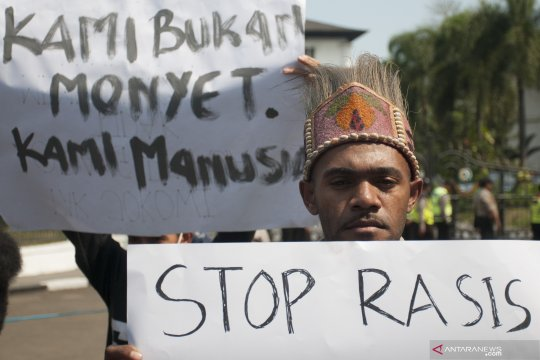 Aksi solidaritas untuk warga Papua