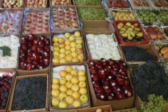 260 ton buah diekspor dari Kandahar, Afghanistan, ke Pakistan