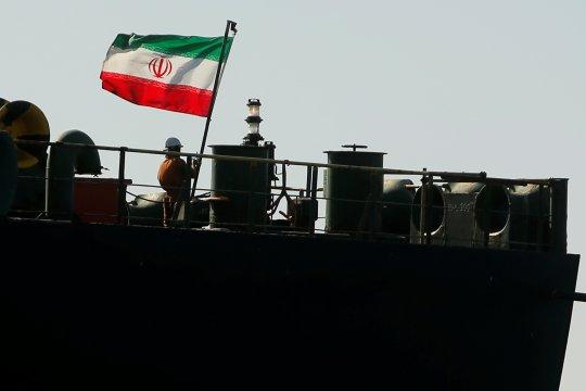 Data pelacak kapal: Tanker Iran ubah tujuan, menuju Turki