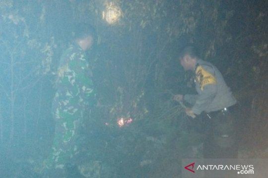 Bhabinkamtibmas di Bangka Barat antisipasi karhutla