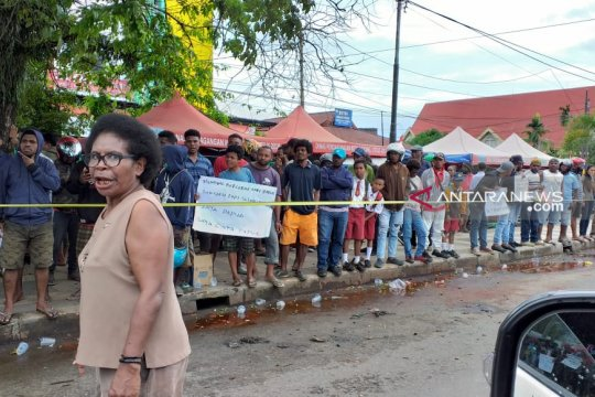 Situasi Kota Sorong Papua Barat dinilai mencekam