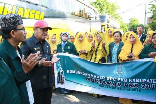Puluhan delegasi Sidoarjo berangkat Muktamar PKB di Bali