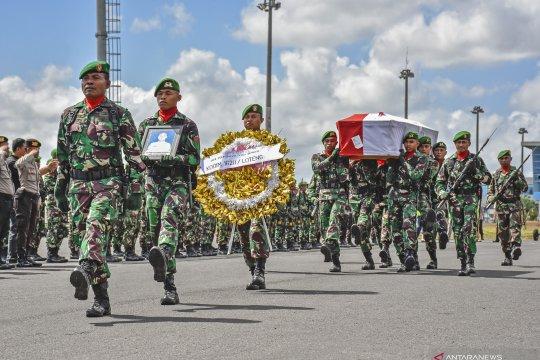 Jenazah korban KKSB Papua