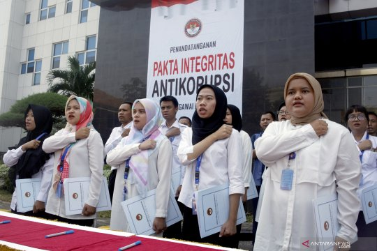Pakta integritas Anti Korupsi  pegawai LPSK