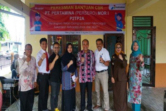 Pertamina bangun Rumah Aman Untuk Perempuan dan Anak di  Sumut