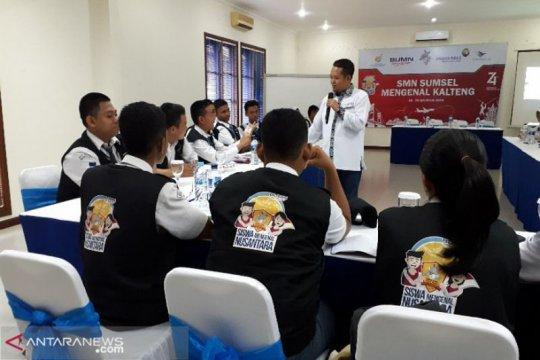 Peserta SMN Sumatera Selatan antusias bedah buku harian