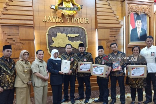 Gubernur memastikan 120 anggota DPRD Jatim dilantik 31 Agustus 2019