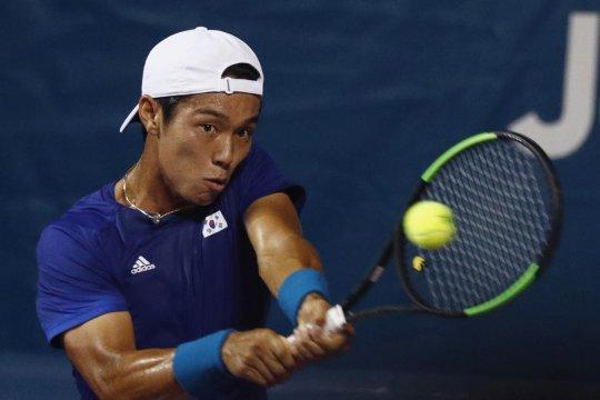 Lee Duck-hee, petenis tuna rungu pertama menangi laga ATP