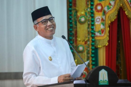 Pelaksana Tugas Gubernur Aceh buka Festival Saman di Gayo Lues