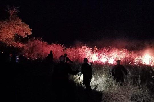 Bupati Lombok Utara instruksikan Kades cegah pembakaran lahan