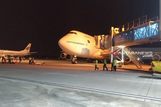 449 haji Kloter 3 Debarkasi Palembang tiba
