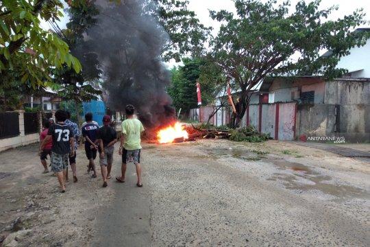 Sejumlah jalan di Kota Sorong masih ditutup