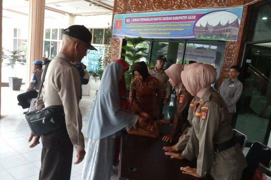 250 polisi jaga pelantikan anggota DPRD Agam