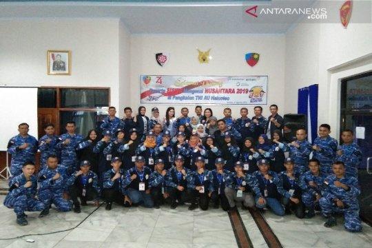 SMN asal Babel latihan bela negara di Lanud Haluoleo