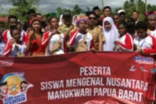 Imbas Manokwari, 23 siswa SMN Sulbar dipulangkan dari Papua
