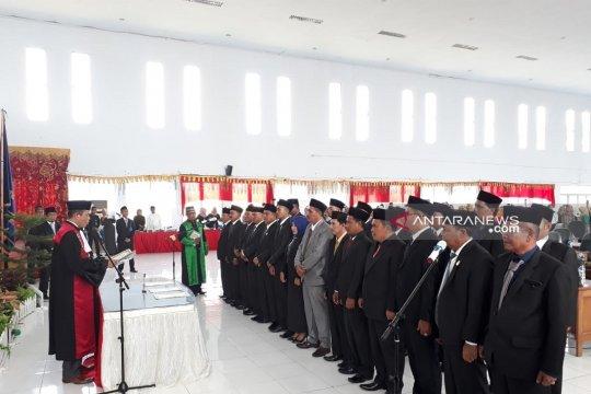 Satu caleg DPRD Mukomuko terpilih tidak hadir saat pelantikan