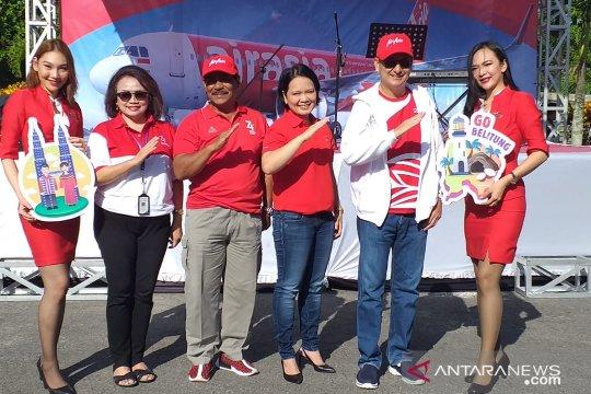 Maskapai Air Asia resmikan dua rute baru di Belitung