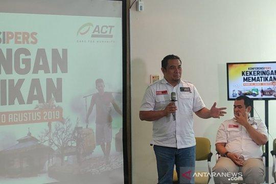 ACT beri bantuan air bersih-pangan-medis untuk wilayah kekeringan