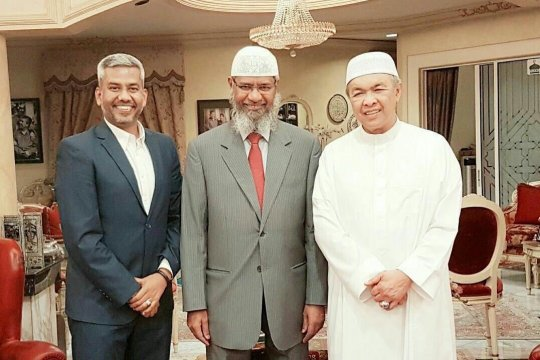 Zakir Naik klarifikasi ke polisi Malaysia soal tuduhan rasisme